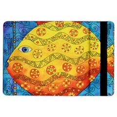 Patterned Fish iPad Air 2 Flip