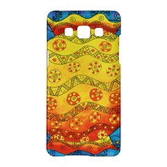 Patterned Fish Samsung Galaxy A5 Hardshell Case