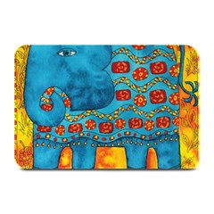 Patterned Elephant Plate Mats