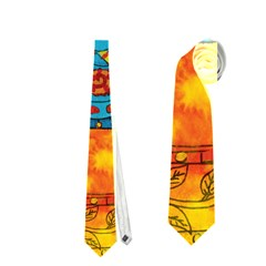 Patterned Elephant Neckties (Two Side)