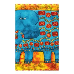 Patterned Elephant Shower Curtain 48  X 72  (small)
