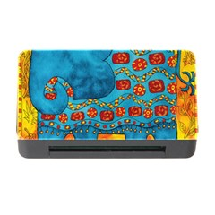 Patterned Elephant Memory Card Reader with CF