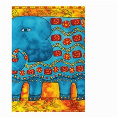 Patterned Elephant Small Garden Flag (Two Sides)