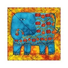 Patterned Elephant Acrylic Tangram Puzzle (6  X 6 )