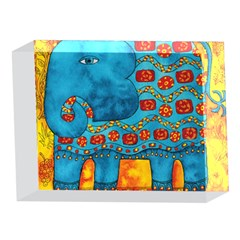 Patterned Elephant 5 x 7  Acrylic Photo Blocks
