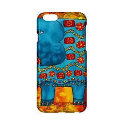 Patterned Elephant Apple Iphone 6 Hardshell Case