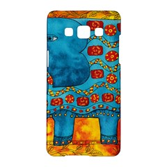 Patterned Elephant Samsung Galaxy A5 Hardshell Case
