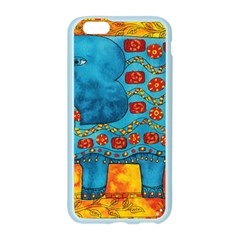 Patterned Elephant Apple Seamless iPhone 6 Case (Color)