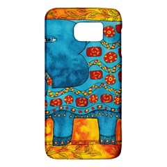 Patterned Elephant Galaxy S6