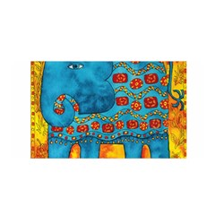 Patterned Elephant Satin Wrap