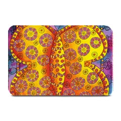 Patterned Butterfly Plate Mats