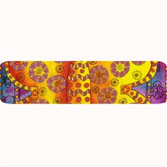 Patterned Butterfly Large Bar Mats