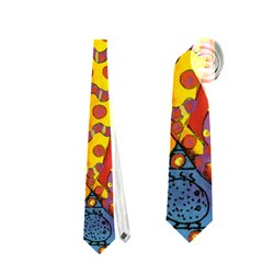 Patterned Butterfly Neckties (Two Side)