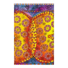 Patterned Butterfly Shower Curtain 48  x 72  (Small)
