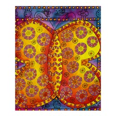 Patterned Butterfly Shower Curtain 60  x 72  (Medium)