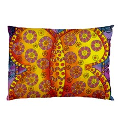 Patterned Butterfly Pillow Cases (Two Sides)