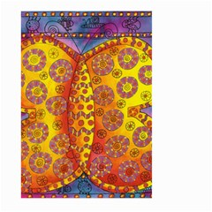 Patterned Butterfly Large Garden Flag (two Sides)