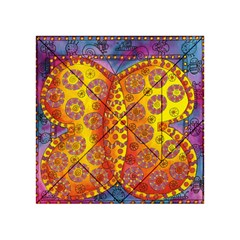 Patterned Butterfly Acrylic Tangram Puzzle (4  X 4 )