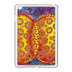 Patterned Butterfly Apple Ipad Mini Case (white)