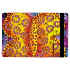 Patterned Butterfly iPad Air 2 Flip
