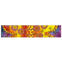 Patterned Butterfly Flano Scarf (Small)