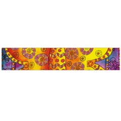 Patterned Butterfly Flano Scarf (Large)