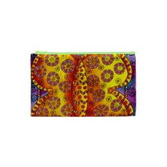 Patterned Butterfly Cosmetic Bag (XS)