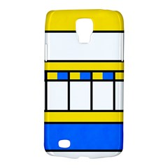 Shapes In Retro Colors Samsung Galaxy S4 Active (i9295) Hardshell Case