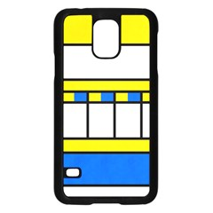 Stripes And Squaressamsung Galaxy S5 Case