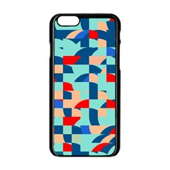 Miscellaneous shapes Apple iPhone 6 Black Enamel Case