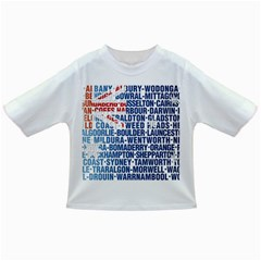 Australia Place Names Flag Infant/Toddler T-Shirts
