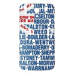 Australia Place Names Flag Samsung Galaxy Mega I9200 Hardshell Back Case