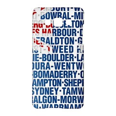 Australia Place Names Flag Samsung Galaxy A5 Hardshell Case