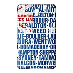 Australia Place Names Flag Samsung Galaxy Tab S (8.4 ) Hardshell Case