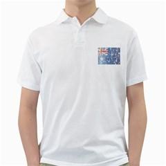 Australia Place Names Flag Golf Shirts