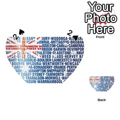 Australia Place Names Flag Playing Cards 54 (Heart)