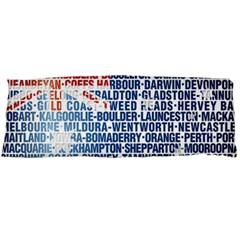 Australia Place Names Flag Body Pillow Cases Dakimakura (Two Sides)