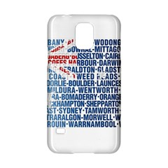 Australia Place Names Flag Samsung Galaxy S5 Hardshell Case