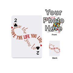 Live The Life You Love Playing Cards 54 (Mini)