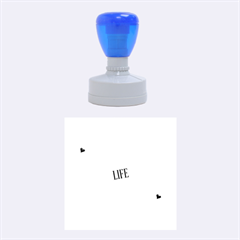 Live The Life You Love Rubber Round Stamps (Medium)
