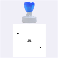 Live The Life You Love Rubber Round Stamps (Large)