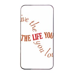 Live The Life You Love Apple Iphone 4/4s Seamless Case (black)