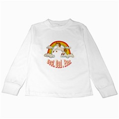 Best. Dad. Ever. Kids Long Sleeve T-Shirts