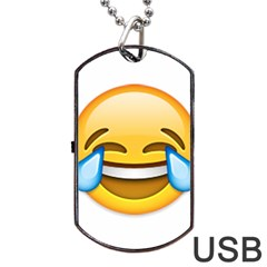 Cryingwithlaughter Dog Tag Usb Flash (one Side)