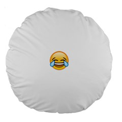 Cryingwithlaughter Large 18  Premium Flano Round Cushions