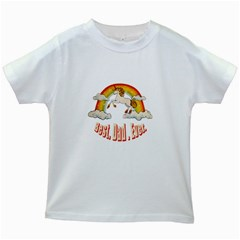 Best. Dad. Ever Kids White T-Shirts