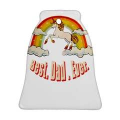 Best  Dad  Ever Bell Ornament (2 Sides)
