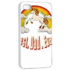 Best  Dad  Ever Apple Iphone 4/4s Seamless Case (white)