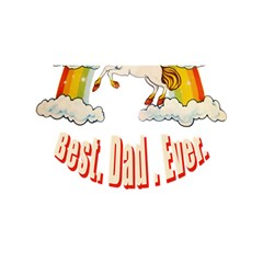 Best. Dad. Ever YOU ARE INVITED 3D Greeting Card (8x4)
