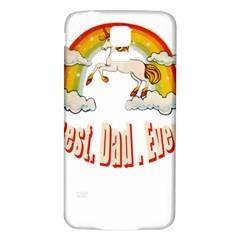 Best. Dad. Ever Samsung Galaxy S5 Back Case (White)
